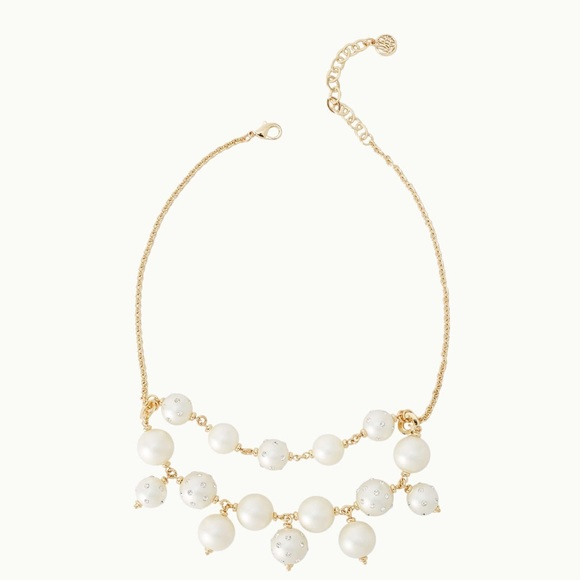 Lilly Pulitzer Catch Me Pearl Necklace